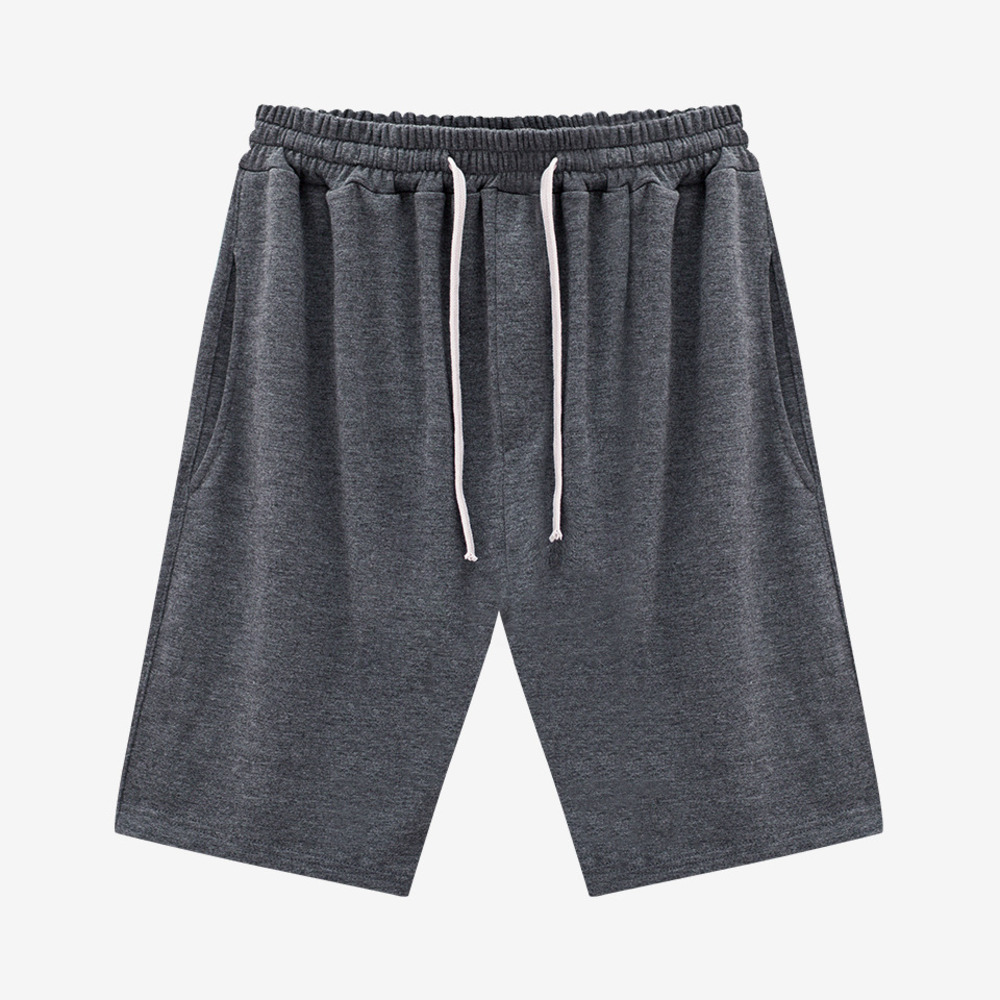 TERRY GYM SHORTS GRAY - GHTG